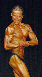 Russell Fergusson - Mens bodybuilding competition