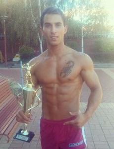 Gabriel Hiris INBA Fitness Model