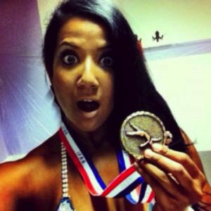 Reshmi Revi fitness competitor