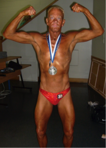 Richard Kalka Bodybuilding competition
