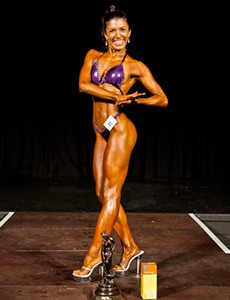 Samira Arnaout figure competition