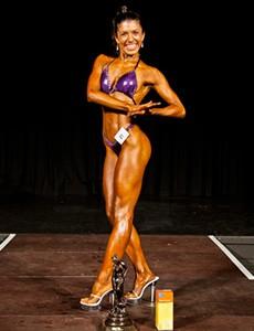 Samira Arnaout figure competition