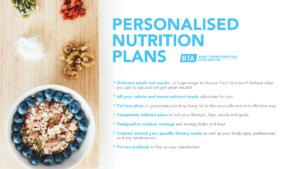 BTA - Nutrition plans