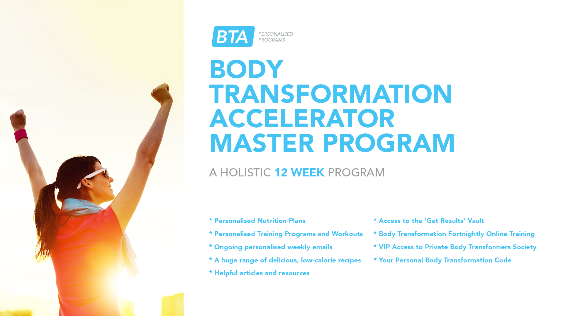 Body Transformation Accelerator Master Program