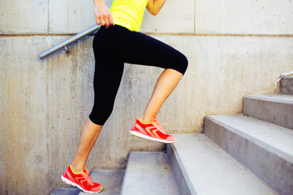 Stair run - how to get motivated to exercise