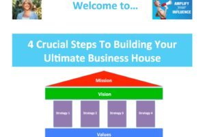 4 Crucial Steps To Building Your Ultimate Business House