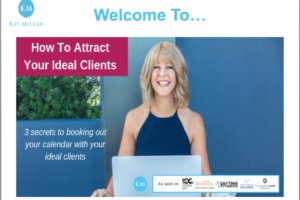 How To Attract Your Ideal Clients: Webinar Replay