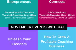 November 2019 Events – There's something for everyone!